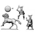 Crusader Miniatures ANO013 Oscan General Foot & Mounted