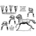 Crusader Miniatures ANO006 Unarmoured Oscan Cavalry