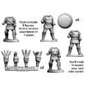 Crusader Miniatures ANO008 Armoured Campanian Hoplites