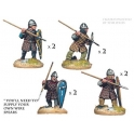 Crusader Miniatures DAN003 Norman Spearmen in Quilted Armour