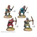 Crusader Miniatures DAN006 Unarmoured Norman Bowmen