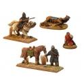 Crusader Miniatures DAN106 Norman Cavalry Characters