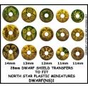 North Star DWARF(NS)1 Dwarf Shield Transfers 1