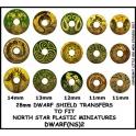 North Star DWARF(NS)2 Dwarf Shield Transfers 2