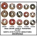 North Star DWARF(NS)3 Dwarf Shield Transfers 3