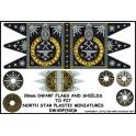 North Star DWARF(NS)6 Dwarf Flag and Shields 2