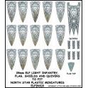 North Star ELF(NS)3 Elf Light Infantry Banner & Shields