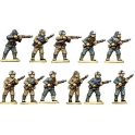 North Star BU02 Chinese Infantry in Fur Caps