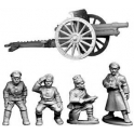 North Star BU06 Bolshevik Field Gun and Crew (T14)