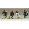 North Star NSA1008 Matabele Warriors In Full Regalia