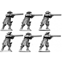 North Star GS18 Dismounted Dragoons in Hat Firing
