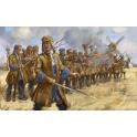 Strelets 254 Dragons français à pied en Escarmouche - Guerre de succession d'Espagne