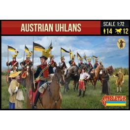 Strelets 275 Austrian Uhlans Napoleonic