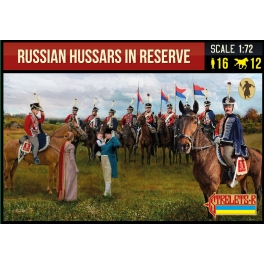 Strelets 276 Russian Hussars in Reserve Napoleonic