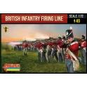 Strelets 278 Infanterie britannique en ligne faisant feu