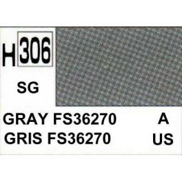 gunze H306 Gris FS-36270 satiné