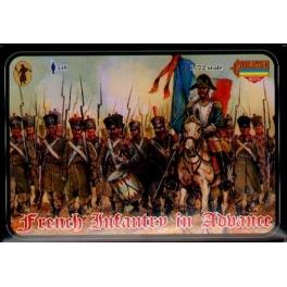 strelets m026 infanterie française en marche 2