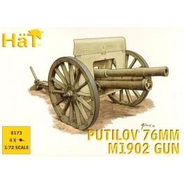 hat 8173 canon russe putilov 76mm - 14/18
