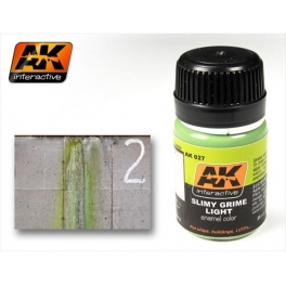 ENAMEL AK 027 Effet de moisissure claire
