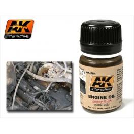 ENAMEL AK 084 Effet coulure huile moteur