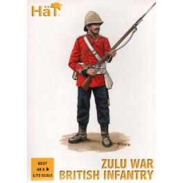 Hät 8237 infanterie anglaise guerre zoulou 1879