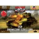 Firsdt to fight 32 Char 7tp polonais double tourelles