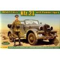 ace 72289 kfz21 avec Rommel