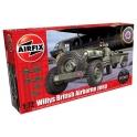 airfix 02339 jeep + remorque + canon
