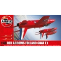airfix 05124 Folland Gnat T.1 Red Arrows  (nouv. moule)