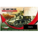"mirage hobby 72673 U.S. Light Tank M3 ""Tunisie 1943"""