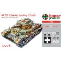 hunor 72008 char lourd hongrois M41 Turan