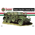 hunor 72041  Hungarian Krupp Protze commandement