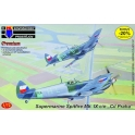 "kpm 7260 Spitfire Mk.IXC/Mk.IXE ""Premium"" (3 kits,21 decalques)"