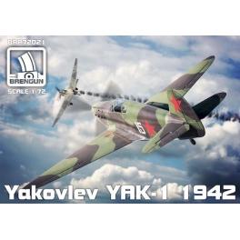 bren gun 72021 Yak-1 (mod. 1942)