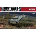 modelcollect 72069 Char E75 Jagdpanzer canon de 128