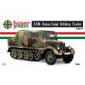 hunor 72044 Tracteur d'artillerie Hansa lloyd 37M