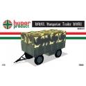 hunor 72033 Remorque hongroise