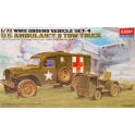 academy 13403 US Dodge & Tractor