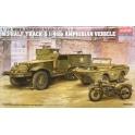academy 13408 M3 US HalfTrack & 1/4 Ton Amphibie