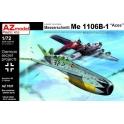 "azmodel 7537 Me 1106B-1 ""Aces"" Luftwaffe '46"