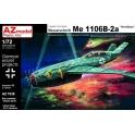 "azmodel 7538 Me 1106B-2a ""Nachtnj""ger"" Luftwaffe '46"