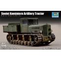 "trumpeter 07120 tracteur d'artillerie russe ""KOMMITERN"""