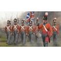 strelets 141 Infanterie anglaise en marche (1er empire)