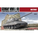 modelcollect 72067 E-100 Flakpanzer w.FLAK 88