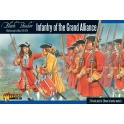 wg infanterie Anglaise 1701-1714