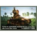 ibg 72044 Tankette Type 94 Japonaise