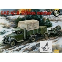 military wheels 7250 GAZ-42 + mortier de 120mm