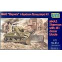 um 214 M4A2 Sherman bull dozer
