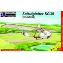 """kpm 7227 DFS SG-38 Schulgleiter """"Gondola"""" (2in1)"""
