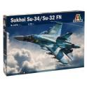 italeri 1379 Su-34/Su-32 FN Fullback